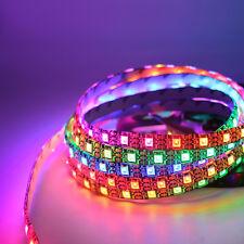 WS2812B ws2812 5050 RGB Full color Individual Addressable Strip tape lamp 5V DC