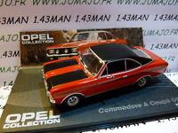 coche 1/43 IXO eagle moss OPEL colección : commodore Tiene copa GS/E 1970-71