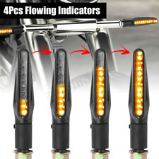 4x 12LED Turn Signal Flowing Indicator Light Motorcycle Built-in Load Resistor