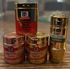 Zuru Mini Brands Rose Gold Apple Pie Spice!!! LE ULTRA RARE McCormick Lot Of (4)