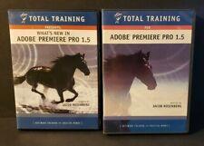 Total Training for Adobe Premiere Pro 1.5 Dvd Set.Missing 1 Set & 1 Dvd