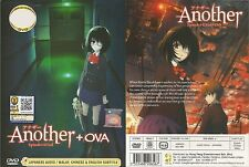 ANIME DVD~Another(1-12End+OVA)English subtitle&All region FREE SHIPPING+GIFT