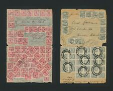 1923 GERMANY COVERS HYPER INFLATION, 390 MLN TO PORTUGAL & 4 BILLION MKS TO USA