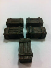 Legendary Realms Terrain - Accessory - Box, Wooden - Set of 5