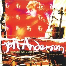 JON ANDERSON - CHANGE WE MUST (REMASTERED+EXPANDED ED.)  CD NEU