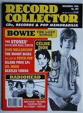 Record Collector 11/96 D. Bowie Radiohead Celine Dion