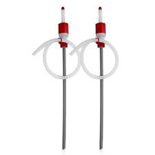2 Pk Terapump Trti901 Bpa Free Extra Heavy Duty Siphon Drum Pump For 15 30 55