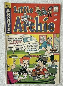 Little Archie Comic Book with Little Sabrina  #91 ~1974