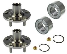 2 Front Wheel Hub Bearings Fit Toyota Camry Highlander 4cyl Only With Nuts Clips
