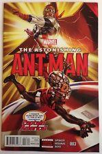 The Astonishing Ant-Man #3 Marvel comic 1st Print 2016 NM ships in t-folder