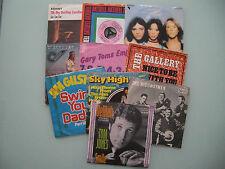 Singles Paket 60er / 70er, 10 x 7'' (Singles), Vinyl: alle Singles vg bis m-