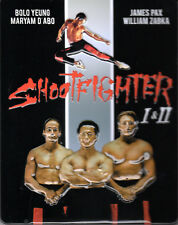 Shootfighter 1 & 2 , 4 discs limited Steelbook , uncut , new , Bolo Yeung