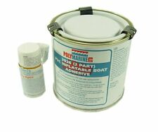Polymarine PVC Inflatable Boat Repair Adhesive. 2 Part. 1L Tin + 40ml Cure.