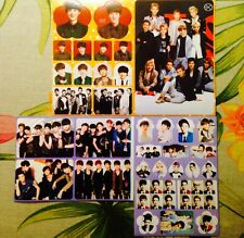 EXO All Members Baekhyun Sehun Kai Luhan Kris Chanyeol Suho 4 Sticker Sheets #A3