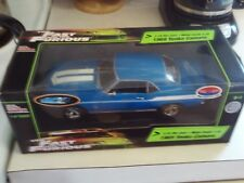 Fast and Furious ERTL 1969 Camaro Yenko 1/18 Racing Champions 1/5000  &3 1/64