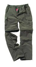 Bear Grylls by Craghoppers Mens NosiLife Cargo Trousers CMJ220R, Dark Khaki,34R