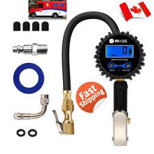 Digital Tire Pressure Gauge 200 PSI Auto Motor Car Truck Bike Air Pressure Gauge