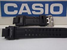 Casio Watch Band GA-1100 -1A Black Rubber Strap G-Shock Twin Sensor