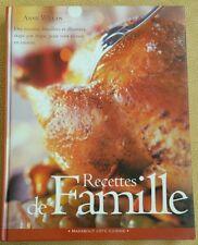 Recettes de famille - Anne Willan beau livre format A4 de 248 pages en tbe