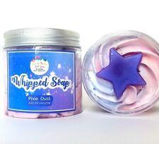 Whipped Soap Fluff PIXIE DUST Foaming Soap Vegan Shaving Soap Cream Birthday NEW