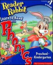 Reader Rabbit Learn To Read With Phonics Preschool-Kindergarten PC CD child game