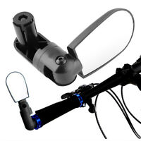Universal Rotate Cycling Bike Handlebar Wide Angle Rearview Back view Mirror