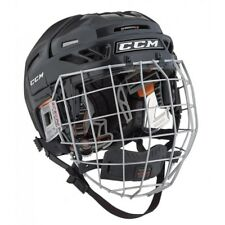 New CCM Fit Lite 3Ds Youth Ice Roller Hockey Helmet and Mask Combo FitLite Black