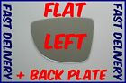 RENAULT CLIO MK4 2012+ FLAT WING MIRROR GLASS LEFT PASSENGER SIDE +BACKING PLATE
