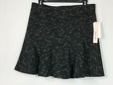 SEQUIN HEARTS Womens Mini Skirt Black Size Large  NEW T02