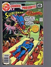DC Comics Presents #7 DC Pub 1979 the Paralyzed Planet Peril !