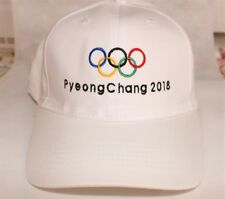 Olympic 2018 Winter Games Embroidered Hats & Patches -Free Shipping US