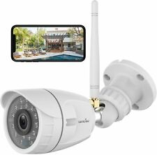 Wansview 1080P Outdoor Security Camera with Night Vision, Motion Detection
