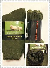Winter Must Have 6pairs Men Woman Wool Woollen Socks Super Warm Work Boot 10-13