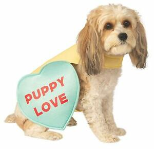 Candy Heart Valentine's Day Holiday Fancy Dress Up Halloween Pet Dog Cat Costume
