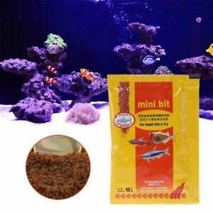 Aquarium Small Fish Food Bettas Tropical Goldfish Plastic Healthy Feed Supplies