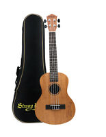 26 inch Professional Mahogany Tenor Ukulele Acoustic Mini Guitar + Gig Bag