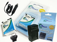 2x Battery +Charger +Car Plug+EU Adapter for GoPro Hero3 White Edition AHDBT 302