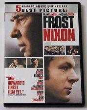 Frost/Nixon (DVD, 2009) Frank Langella Ron Howard
