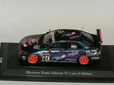 Ebbro 1/43 Toyota Altezza #37 Maziora Kosei 2003 magic-paint