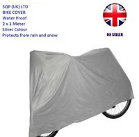 BIKE MOTORCYCLE RAIN DUST COVER WATERPROOF SIZE SMALL OUTDOOR INDOOR BREATHABLE