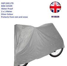 Bicycle Waterproof  Bike Rain Snow Vented Bike Moped Sun Cover Silver- 2Meter_UK
