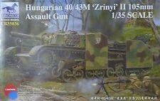 "BRONCO CB35036 Hungarian 40/43M ""Zrinyi"" II 105mm Assault Gun in 1:35"