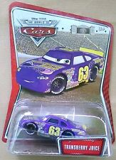 Disney Pixar Cars TRANSBERRY JUICE # 63 WOC Nuovo in Blister. Card molto buona !