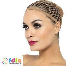 Nude mesh wig cap femme accessoire robe fantaisie pour perruques