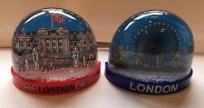 2 London Snow Globe Fridge Magnets British Souvenir Gift