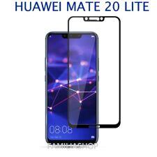 Film de protection intégrale en verre trempé noir pour Huawei mate 20 lite