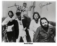 Beach Boys Autograph Signed Photo Glossy Music Preprint Mike Love Bruce Johnston