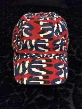 Stephen Sprouse x Target Collaboration Baseball Cap Hat Red But White Graffiti