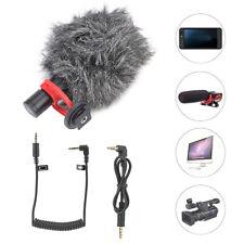 VBESTLIFE Video Mic Microphone Condensor for Nikon Canon DSLR Camera Camcorde