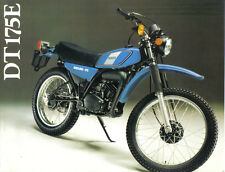 Yamaha DT175E Sales Brochure,1978 Original NOS